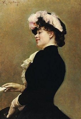 Raimundo de Madrazo y Garreta: Eine elegante Schönheit