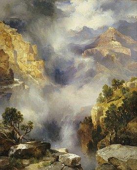 Thomas Moran: Der Canyon im Nebel