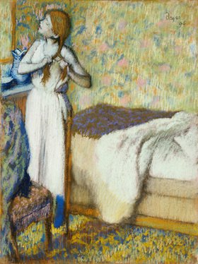Edgar Degas: Morgentoilette