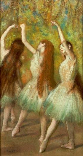 Edgar Degas: Tänzerinnen in Grün