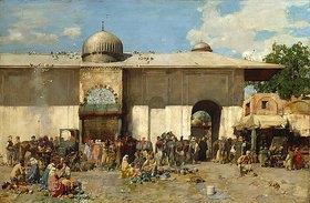Alberto Pasini: Orientalischer Markt