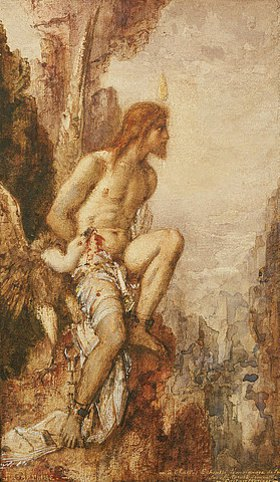 Gustave Moreau: Die Strafe des Prometheus