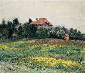 Gustave Caillebotte: Landschaft in der Normandie