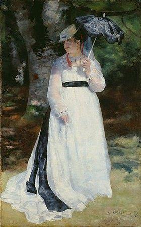 Auguste Renoir: Lise mit dem Sonnenschirm (Lise - La femme à l'ombrelle)