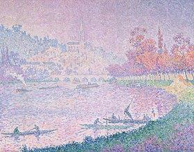 Paul Signac: Die Seine bei Saint-Cloud