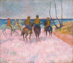 Paul Gauguin: Reiter am Strand (I) (Cavaliers sur la plage)