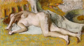 Edgar Degas: Nach dem Bad