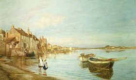 Charles William Wyllie: Ein Sommertag in Bosham, Sussex