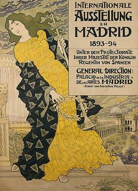 Eugene Samuel Grasset: Internationale Ausstellung zu Madrid