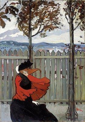 Théophile-Alexandre Steinlen: Der Windstoß