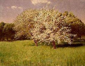 Pál Szinyei-Merse: Blühende Bäume