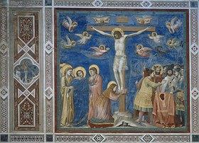 Giotto di Bondone: Kreuzigung