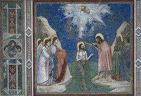 Giotto di Bondone: Die Taufe Christi