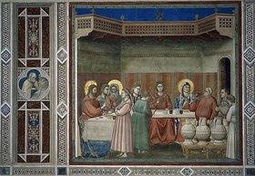 Giotto di Bondone: Die Hochzeit zu Kanaa