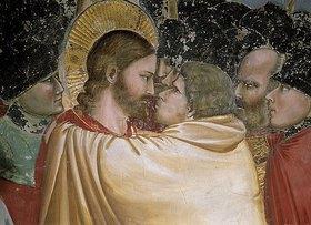 Giotto di Bondone: Der Judaskuss (Detail, siehe auch Bilnummer 34477)