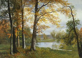 Albert Bierstadt: Ein ruhiger See