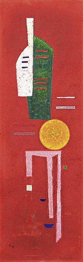 Wassily Kandinsky: Streifen. 1930