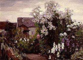 Alexander Koester: Garten in Diessen