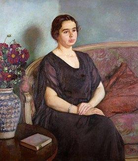 Theo van Rysselberghe: Bildnis von Madame Dubois