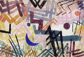 Paul Klee: Spiel der Kräfte einer Lechlandschaft