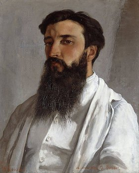 Gustave Courbet: Bildnis von Jules Bordet