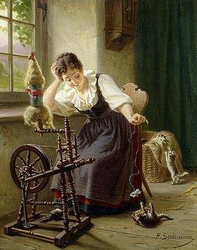 Hermann Sondermann: Spiel mit der Katze