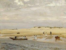 Algernon Talmage: Strandszene