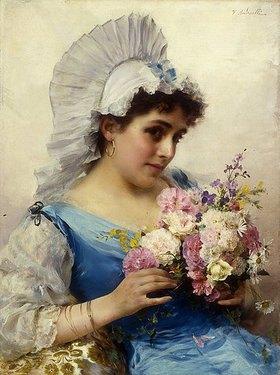 Federigo Andreotti: Der Blumenstrauß