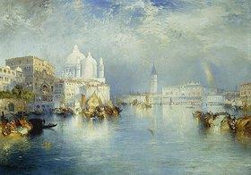 Thomas Moran: Canal Grande, Venedig