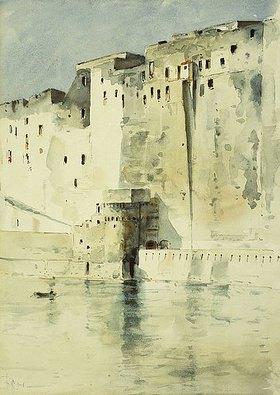 Frederick Childe Hassam: Festung, Neapel