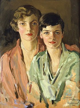Sir John Lavery: Die Schwestern Joan und Marjory