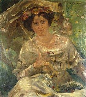 Lovis Corinth: Dame im Sonnenschein