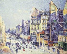 Maximilien Luce: La Rue Reaumur