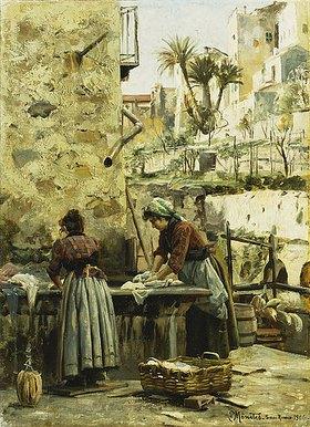 Peder Moensted: Die Wäscherinnen