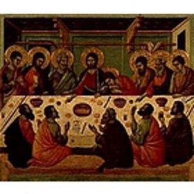 Duccio di Buoninsegna: Das letzte Abendmahl