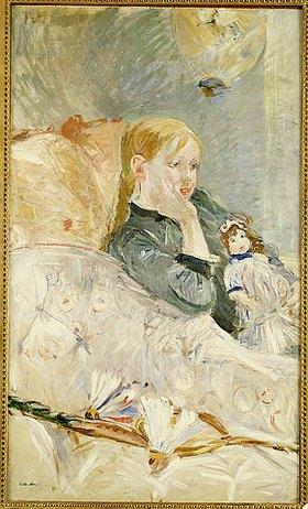 Berthe Morisot: Mädchen mit ihrer Puppe