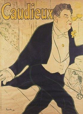 Henri de Toulouse-Lautrec: Caudieux