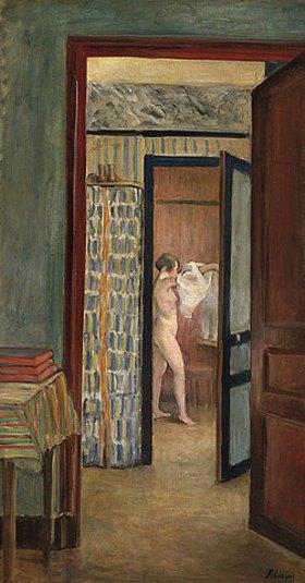 Henri Lebasque: Morgentoilette (Beim Ankleiden)