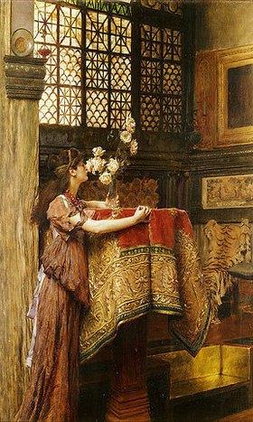 Sir Lawrence Alma-Tadema: Eine Ecke in meinem Atelier
