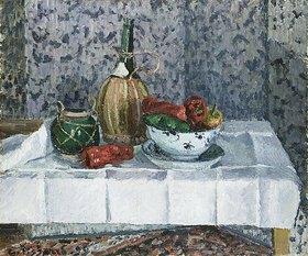 Camille Pissarro: Stillleben mit Paprika