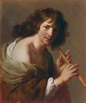 Paulus Moreelse: Flötenspieler