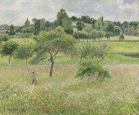 Camille Pissarro: Apfelbäume in Eragny