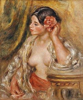 Auguste Renoir: Gabrielle mit einer Rose im Haar