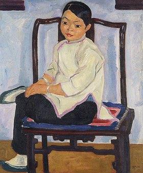 Emil Orlik: Chinesisches Mädchen