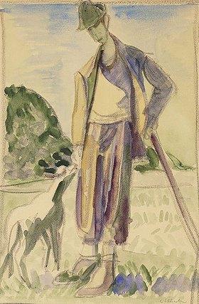 Ernst Ludwig Kirchner: Der Hirte