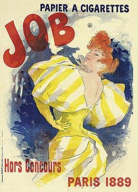 Jules Cheret: Job, papier à cigarettes
