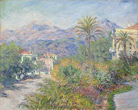 Claude Monet: Strada Romana in Bordighera