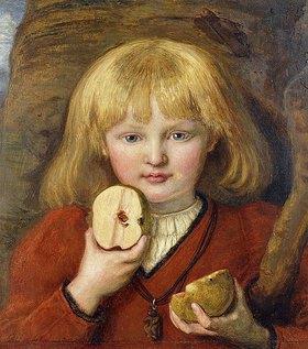 Ford Madox Brown: Portrait des Enkels des Künstlers als Wilhelm Tells Sohn