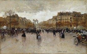 Luigi Loir: Auf den Champs Elysées, Paris