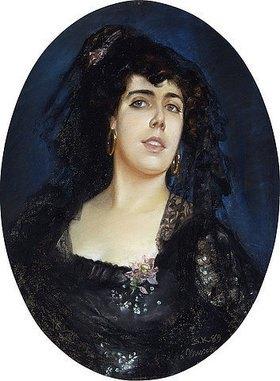 Peter Severin Kroyer: Portrait von Anne Pelterson-Norrie